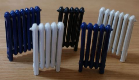 7 Bar Victorian Style Radiators...guaranteed not to leak!